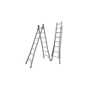 Imagem de Escada Extensiva Dupla De 6 Degraus Metalão