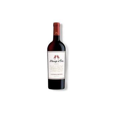 Vinho Tinto Americano Menage a Trois California Red Wine 2017