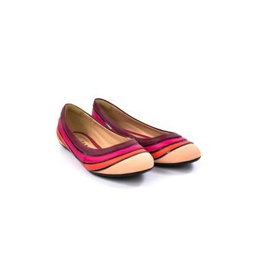 Sapatilha Lilás/pink/bege N7473 Tanara 11218