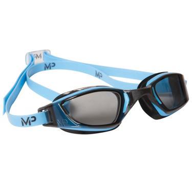 70c2bfdf7ffcd Óculos Natação Michael Phelps Xceed com Lente Fumê Aqua Sphere - Azul Preto