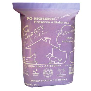 Pó Higiênico Easy Pet & House Citronela - 1 Kg