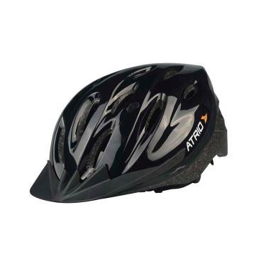 Capacete para Ciclismo MTB Alças Ajustáveis e 19 Entradas de Ar Preto Atrio Tam. G - BI003 BI003
