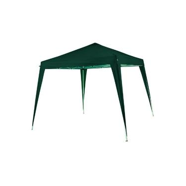Imagem de Gazebo Tenda Nautika Duxx 3x3 Articulada Aluminizado Proteção UV 50+ Verde Praia Lazer Camping