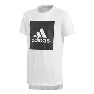 dbce5f42dc Camiseta Infantil Adidas Yb Logo Masculina - Masculino
