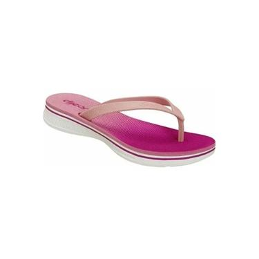 Chinelo Tropical Anabela Confort Dijean
