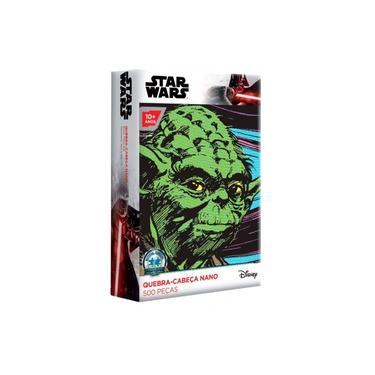 Imagem de Quebra Cabeça Nano Puzzle 500 Peças Star Wars Disney Yoda Toyster