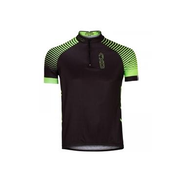 Camisa de Ciclismo Oxer Vesta 3D Meio Zíper - Masculina