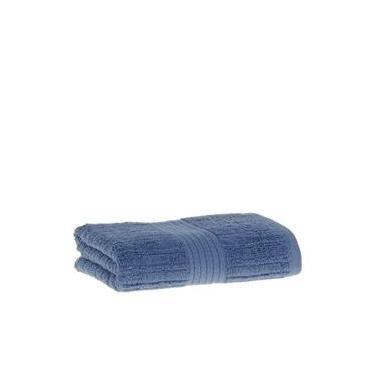 Imagem de Toalha de rosto Avulsa Fio Penteado Canelado Padrão Azul Escuro- Buddemeyer