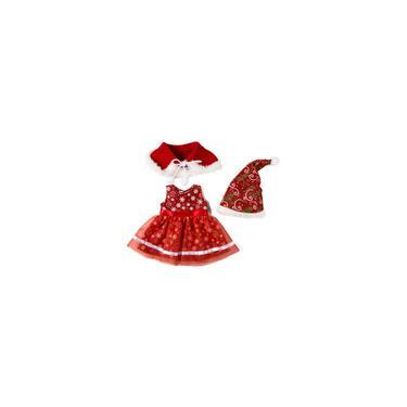 Imagem de 50cm de Natal da roupa da boneca de 18 polegadas American Girl roupa da roupa da boneca