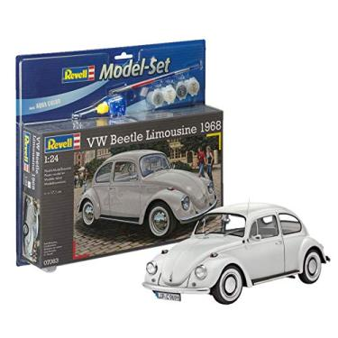 Imagem de Model-Set Volkswagen Fusca Beetle Limousine 1968-1/24 - Revell 67083