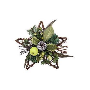 Enfeite de Porta Estrela - Christmas Traditions