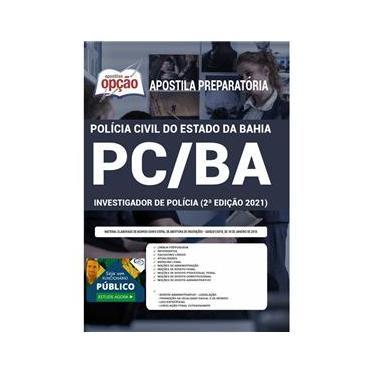 Imagem de Apostila Concurso Pc Ba - Investigador De Polícia