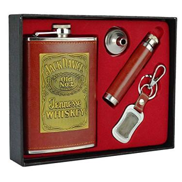 Cantil De Bolso Porta Bebida Whisky Mini Garrafa CBRN13647