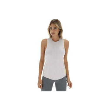 Camiseta Regata Fila Hydra - Feminina - CINZA CLA AMARELO Fila a8329f6a43820