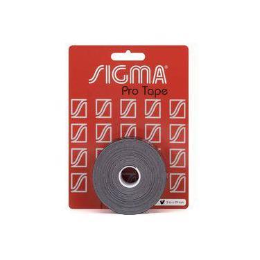 Fita Protetora De Cabeça Sigma Preta 35mm