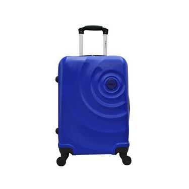Mala de Bordo YS21061 com Rodas Giro 360° em ABS 18 – Azul