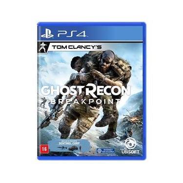 Jogo Midia Fisica Tom Clancys GhostRecon Breakpoint para Ps4