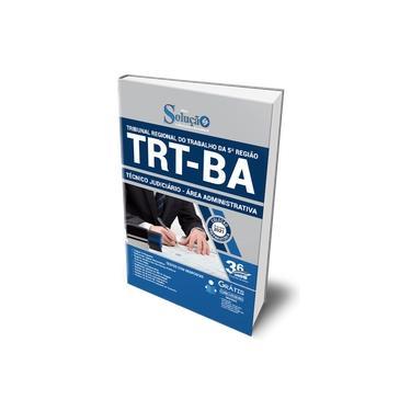 Imagem de Apostila TRT BA 2021 Técnico Judiciário Área Administrativa