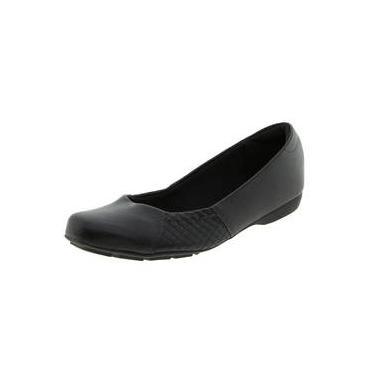 dcb837b910 Sapato Feminino Salto Baixo Preto Modare - 7016218