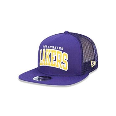 BONE 950 ORIGINAL FIT LOS ANGELES LAKERS NBA ABA RETA SNAPBACK ROXO NEW ERA d635182401d