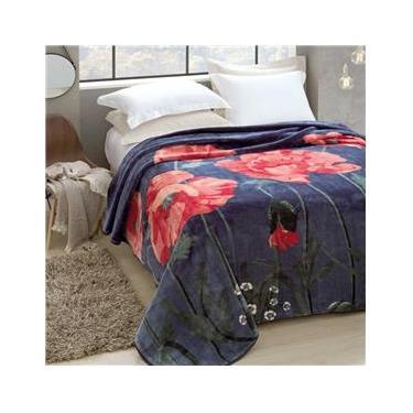 Cobertor Jolitex Raschel King Florecer