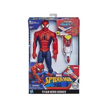 Boneco Marvel Homem Aranha 30cm Power FX  E3552