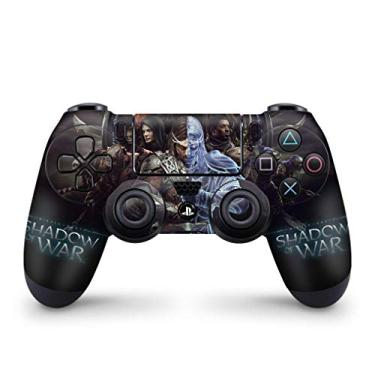 Skin Adesivo para PS4 Controle - Shadow Of War