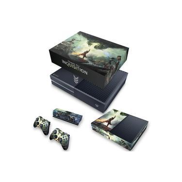 Capa Anti Poeira e Skin para Xbox One Fat - Dragon Age Inquisition