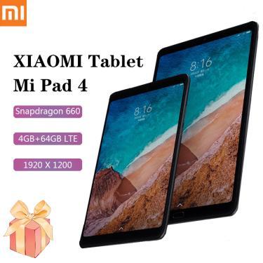 Imagem de Xiaomi-tablet mi pad 4, android, versão lte, 8 tamanhos, 1920x1200, snapdragon 660, 4gb de ram, 64gb