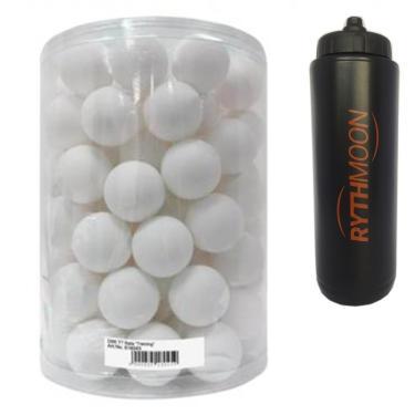 8b607fddc Kit Bola De Tênis De Mesa Donic Training com 90 Branca + Squeeze Automático  1lt