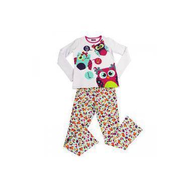 Pijama Longo Infantil Menina Puket 30601078