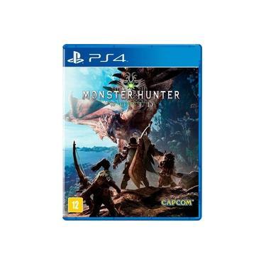 Game Monster Hunter World - PS4 - versão em inglês