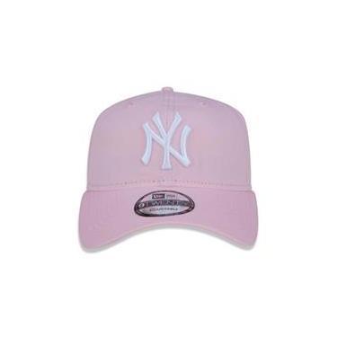 Boné New Era 9Twenty New York Yankees Strapback Pink