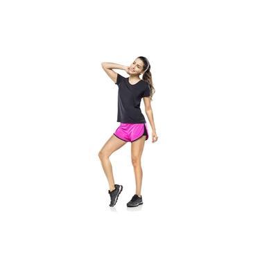 Camiseta Feminina Fitness Preta Classic