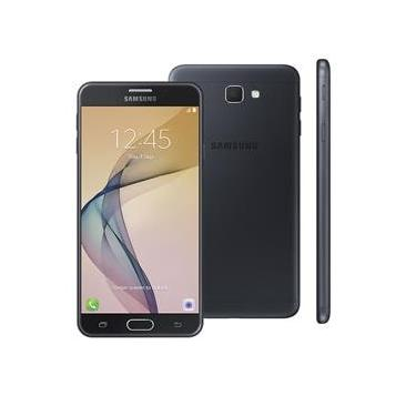 """Smartphone Samsung Galaxy J7 Prime Duos Preto com 32GB, Tela 5.5"""", Dual Chip, 4G, Câmera 13MP, Leitor Biométrico, Android 6.0 e Processador Octa Core"""