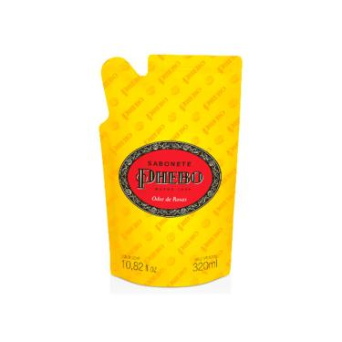 Refil Sabonete Líquido Phebo Odor de Rosas 320ml
