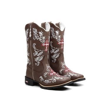 Bota Texana Feminina Strong Nevasca Ellest