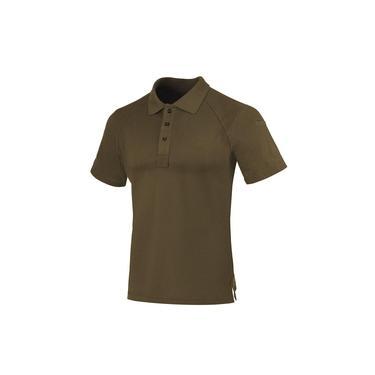Camisa Polo Invictus Control Marrom Apache