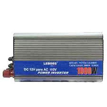 Inversor Veicular 1000W Conversor Transformador 12V 220V