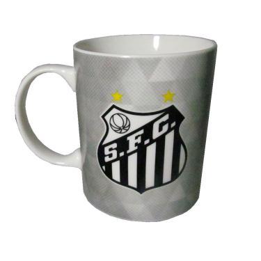 Caneca de Porcelana na Lata do Santos fa36431b9f541