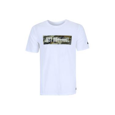 Camiseta Nike Dry DFC JDI - Masculina - BRANCO Nike 411fe3060912b