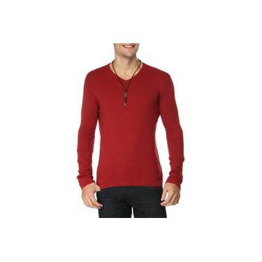 10be148d25 Suéter Gola V Calvin Klein Jeans Retilinea