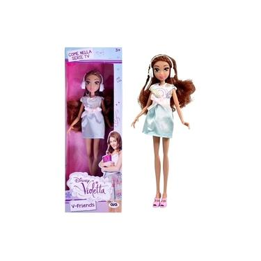 Boneca Violetta Branca V-Friends Novela Disney - Toyng