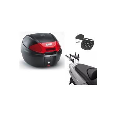 Suporte p/baú Honda PCX 150 GIVI SR-1136 + Baú Givi 30 Litros E300N