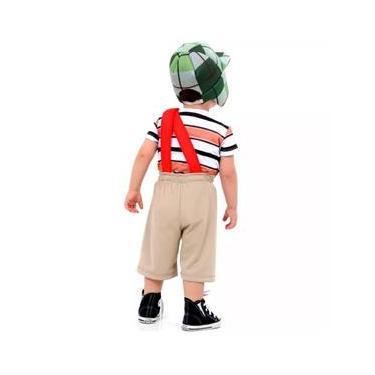 Imagem de Fantasia Infantil - Chaves Bêbe - Tamanho P (1 ano) - 911160 - Sulamericana