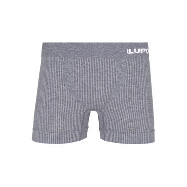 Cueca Boxer Lupo Listras Vert Microfibra S/ Costura Cinza