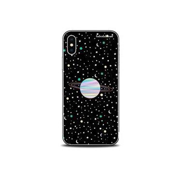 Capa Case Capinha Personalizada Planetas Poeira Estrelar iPhone 5/5S/SE - Cód. 1296-A002