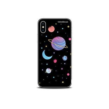"""Capa Case Capinha Personalizada Planetas Poeira Estrelar iPhone XR 5.8"""" - Cód. 1305-A011"""