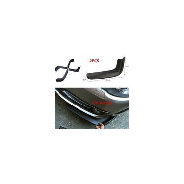 2 unidades de barra anticolisão frontal pára-choque dianteiro kit spoiler divisor à prova d'água