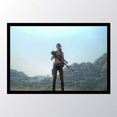 Quadro com moldura Metal Gear Solid V The_005